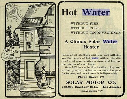 solar water heatingsolar water heating