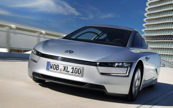 Volkswagen XL1 diesel-electric hybrid car